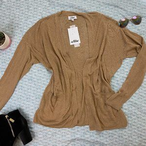 NWT Ellie Open Front Cardigan